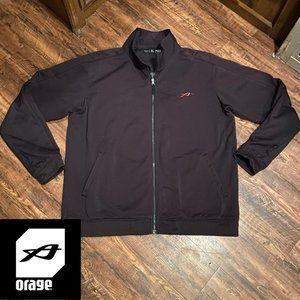 Orage Fleece Team Jacket | Black XL
